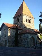 Eglise romance de Saint-Sulpice