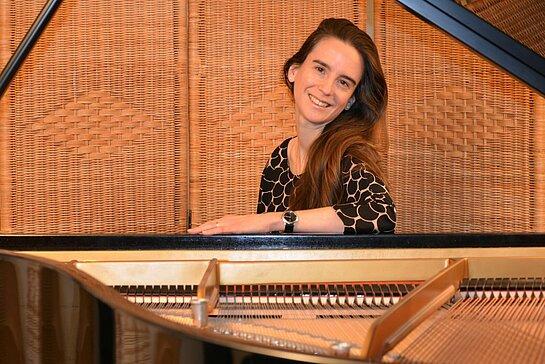 Marie-Christine Pasche au clavier