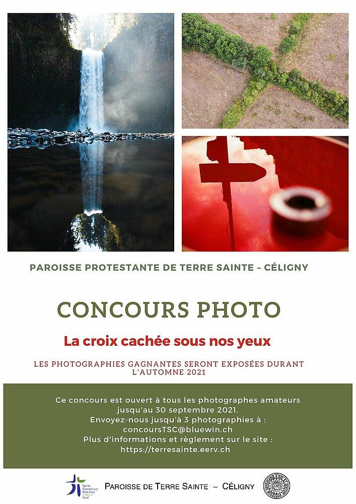Flyer concours photo Terre Sainte 2021