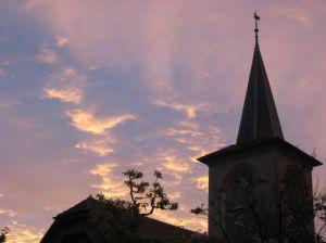Eglise De Crissier Le Soir